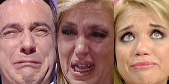 Lloriqueos bochornosos de la TV: ¿Emoción real o lágrimas de cocodrilo?