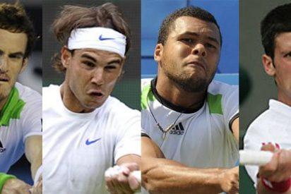 Nadal, Murray, Djokovic y Tsonga, a por un puesto en la final de Wimbledon