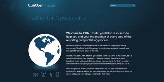 Twitter quiere que los periodistas lo utilicen bien