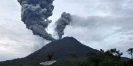 La erupción de un volcán cierra la frontera entre Chule y Argentina
