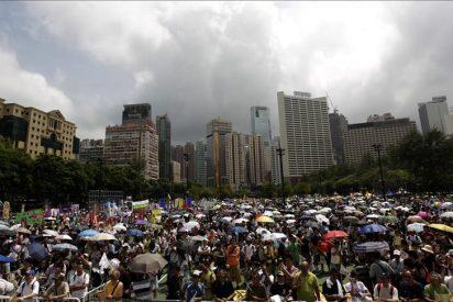 Marchas contra el gobierno de Hong Kong vuelven a marcar el aniversario del traspaso