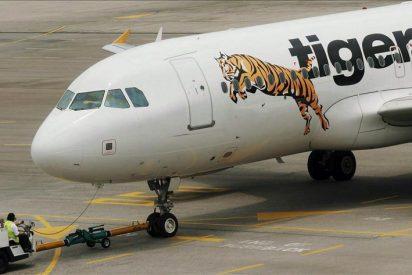 Australia paraliza la flota de aviones de Tiger Airways por inseguridad aérea