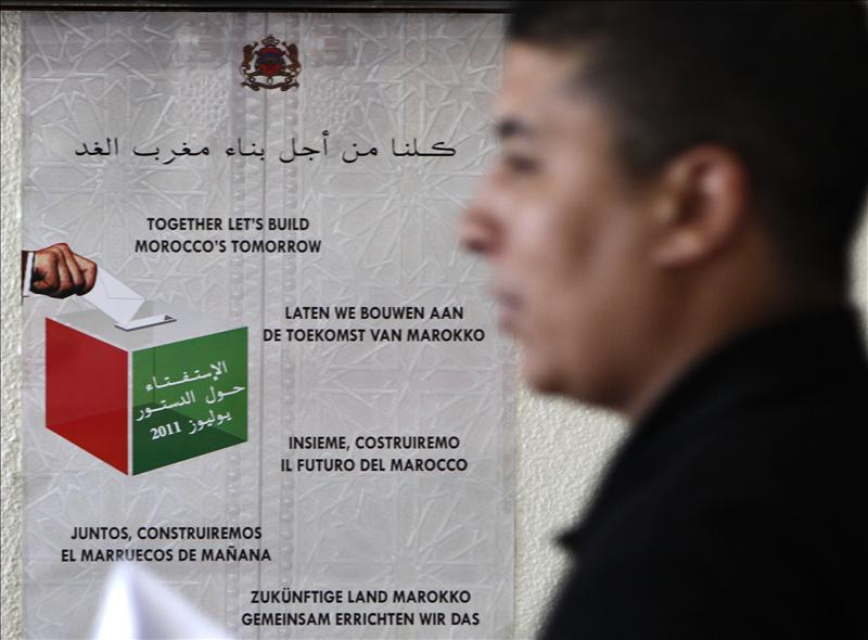 Los marroquíes residentes en España siguen votando hoy en el referéndum