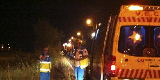 Tres muertos y dos heridos en un accidente de tráfico cerca de Aranjuez