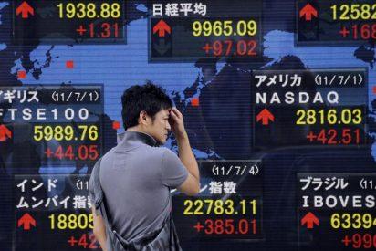 El índice Nikkei sube 5,06 puntos, el 0,05 por ciento, hasta 9.970,15 puntos