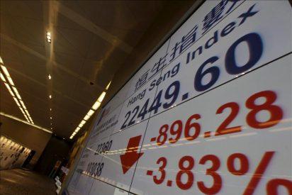 El índice Hang Seng subió 51,28 puntos, 0,23% en la apertura hasta 22.821,75