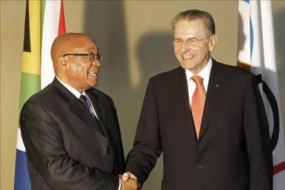 El presidente de Sudáfrica inaugura las 123 Sesión del COI