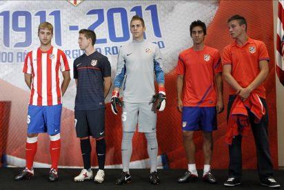 El Atlético de Madrid inicia la concentración en Los Ángeles de San Rafael