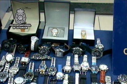 Detenidas 15 personas por importar y distribuir relojes falsos de marca