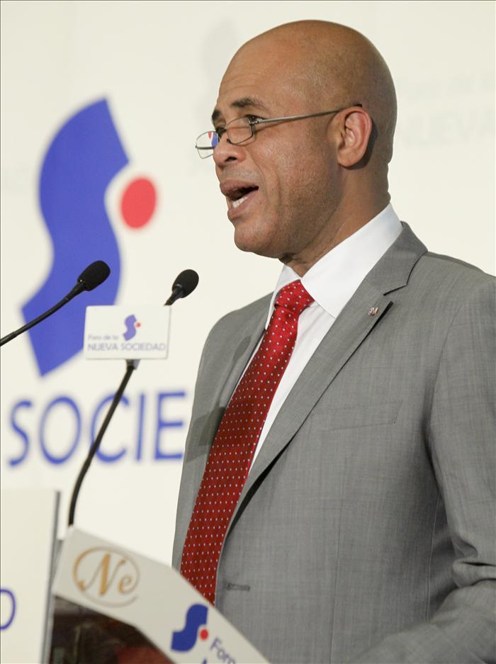 Martelly critica que la ayuda internacional no se ha concretado en proyectos