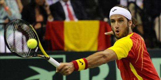 López puso de nuevo a soñar a España al darle el primer punto