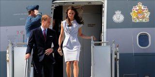 Los duques de Cambridge llegan a Los Ángeles en su primera visita oficial a EE.UU.