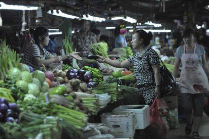 La inflación china alcanzó en junio su máximo en tres años con un 6,4 por ciento