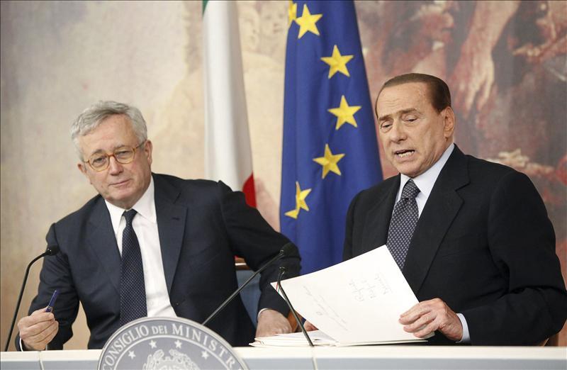 El Gobierno italiano estudia nuevas medidas para reforzar su plan de ajuste