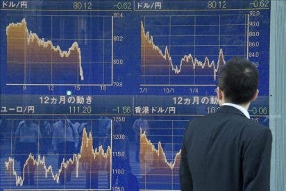 El Nikkei cae 51,74 puntos, el 0,52 por ciento, hasta 9.911,40 puntos