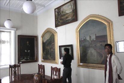 La galería nacional de arte de Kabul busca su esplendor