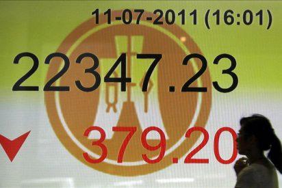 El índice Hang Seng bajó 89,20 puntos, el 0,41 por ciento, hasta 21.786,18