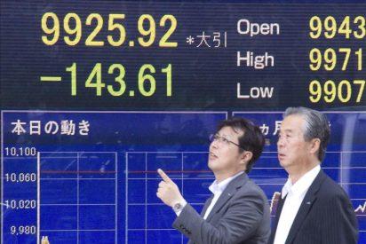 El Nikkei baja 84,75 puntos, el 0,85 por ciento, hasta 9.889,72 puntos