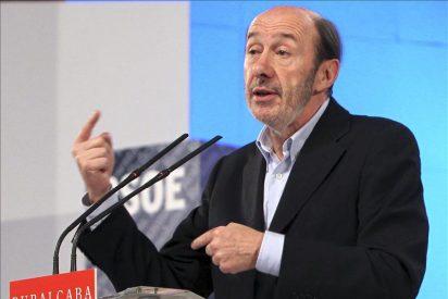 Rubalcaba explica hoy su proyecto a los parlamentarios socialistas