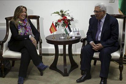 Mahmud Abas busca en Madrid apoyos al ingreso de Palestina en la ONU