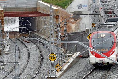 El fuerte temporal causa incidencias y retrasos en trenes y metro del área de Barcelona