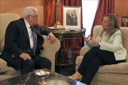 Rodríguez Zapatero recibe a Abás que busca apoyos para el ingreso de Palestina en la ONU