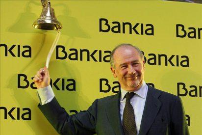 Bankia debuta en Bolsa con una caída inicial del 1,8 que ronda ahora el 3 por ciento
