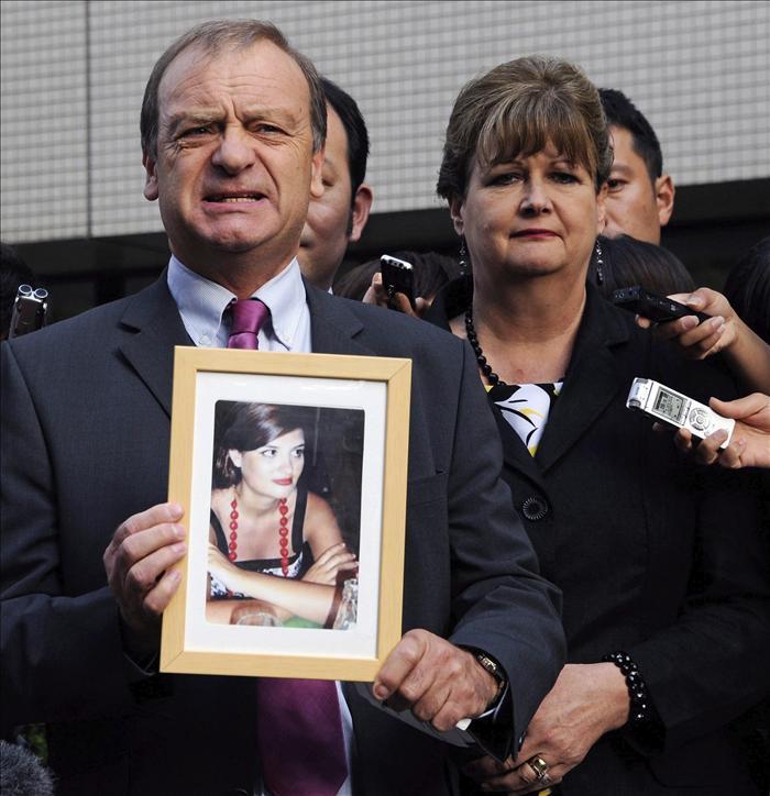 Cadena perpetua para un japonés por asesinar a una joven británica en 2007