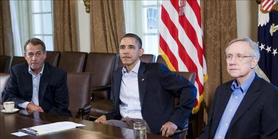 La reunión sobre la deuda en EE.UU. acaba sin acuerdo, que puede lograrse en las próximas 24 horas