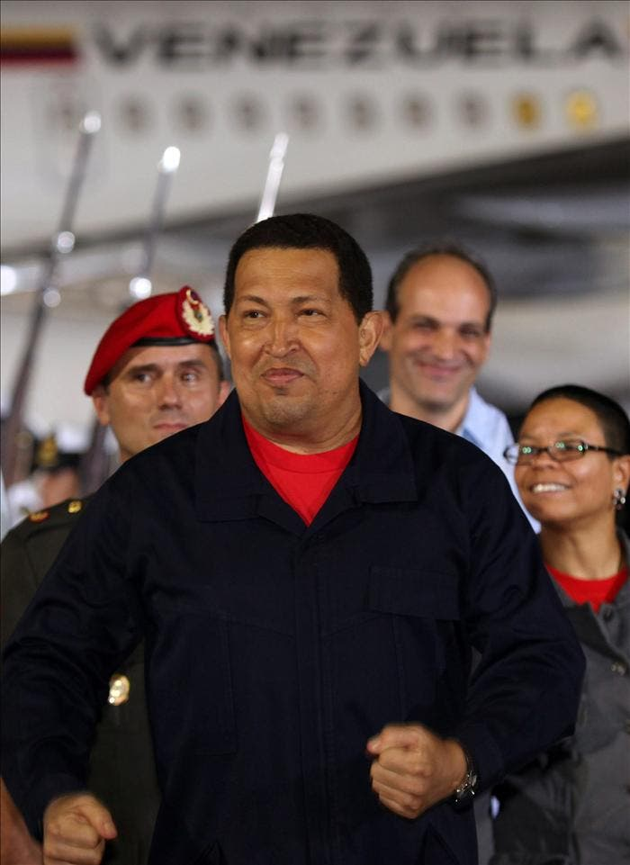 Hugo Chávez dice que los análisis no detectaron cáncer pero sigue el riesgo