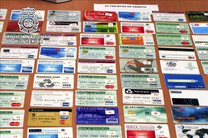 Desmantelados tres talleres de falsificación de tarjetas en Madrid y Logroño