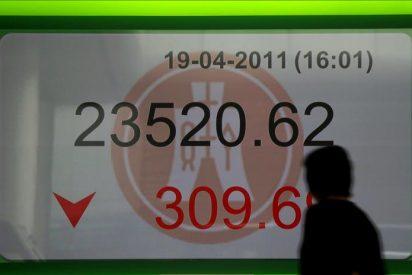 El índice Hang Seng baja un 0,79 por ciento a media sesión