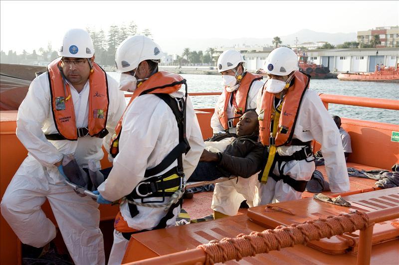 Continúa la llegada de pateras a la costa andaluza con dos nuevos rescates