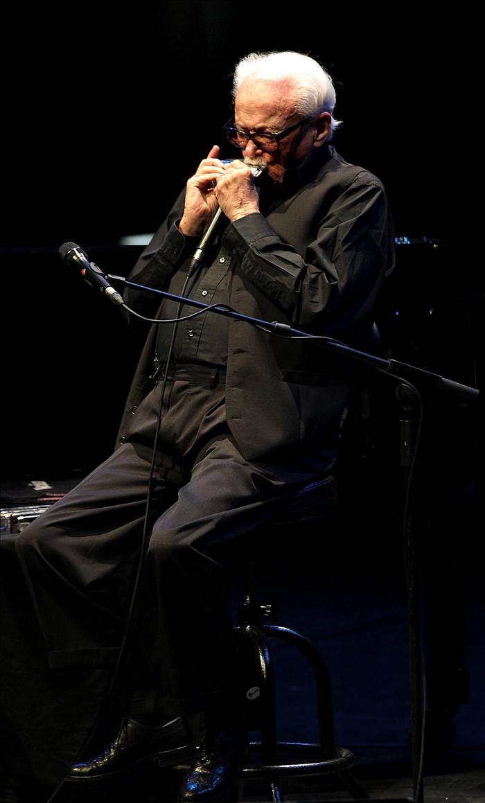 Emoción con Toots Thielemans en el Festival de Jazz de San Sebastián