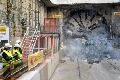 El polémico túnel del AVE por Barcelona se acaba hoy