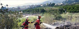Arden 50 hectáreas en un incendio en Trabadelo, en León, que ha movilizado a la UME