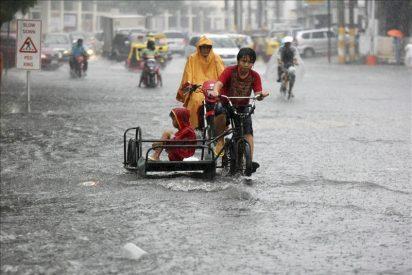 Nueve muertos y once desaparecidos por una tormenta tropical en Filipinas