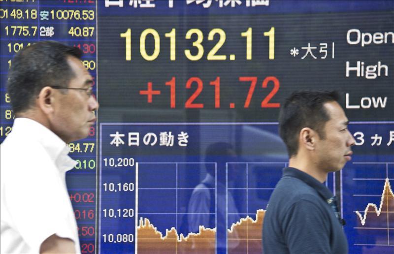 El Nikkei baja 50,53 puntos, el 0,5 por ciento, hasta 10.047,19 puntos