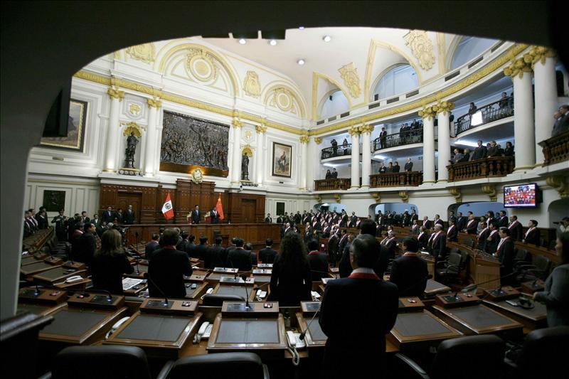 Sin sorpresas en la constitución del Congreso peruano, afín a Ollanta Humala