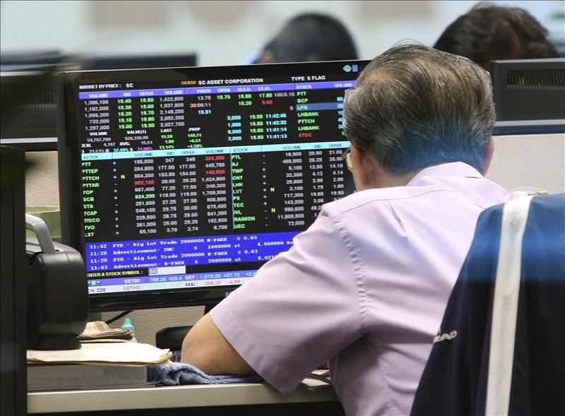 Jornada de ganancias en las bolsas de valores del sudeste de Asia