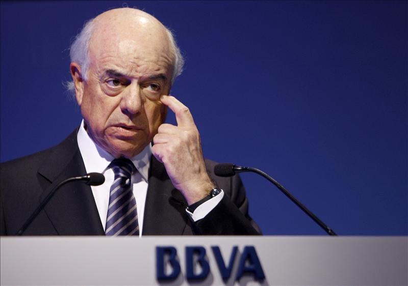 El BBVA ganó 2.339 millones hasta junio, el 7,5 por ciento menos, por la crisis