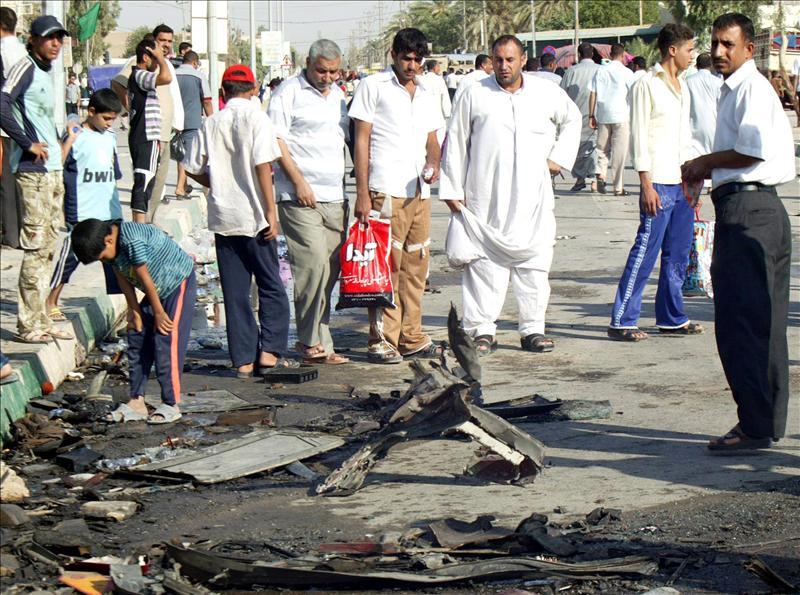 Cuatro muertos y veinte heridos en un doble atentado al norte de Bagdad