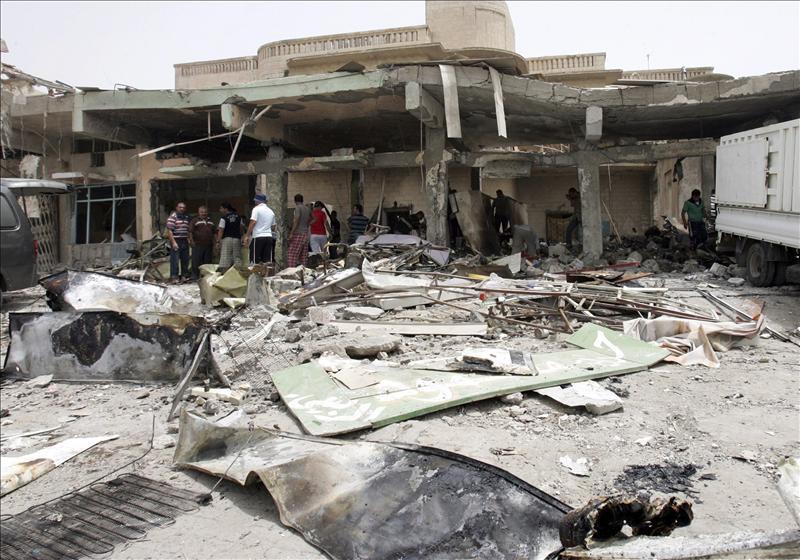 Mueren al menos 5 personas en un enfrentamiento y varios ataques en Irak