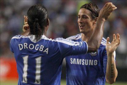 Torres marcó el segundo gol en el partido en el que el Chelsea se hizo con el Asia Trophy