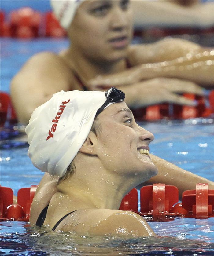 Mireia Belmonte se clasifica para la final de los 400 estilos de los Mundiales de Natación