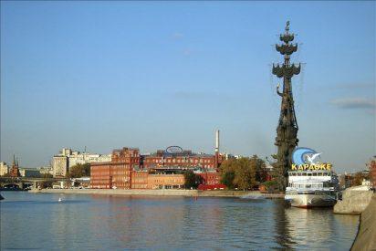 Una decena de muertos al chocar una lancha en el río Moscova