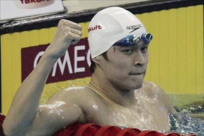 El chino Sun bate el récord del mundo de los 1500 libre, el más antiguo