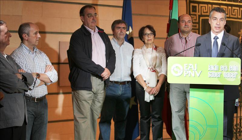 Urkullu cree que la próxima legislatura será la del nuevo estatus político de Euskadi