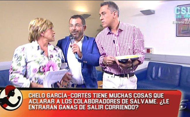 """Brutales ataques a Chelo García Cortés dos semanas después de entrar en 'Sálvame': """"¡Falsa! ¡Traidora! ¡Nos vendes a todos!"""""""