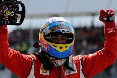 Alonso resurge como el Ave Fénix y se come a los Red Bull en Silverstone